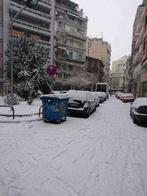 Sneg u Solunu