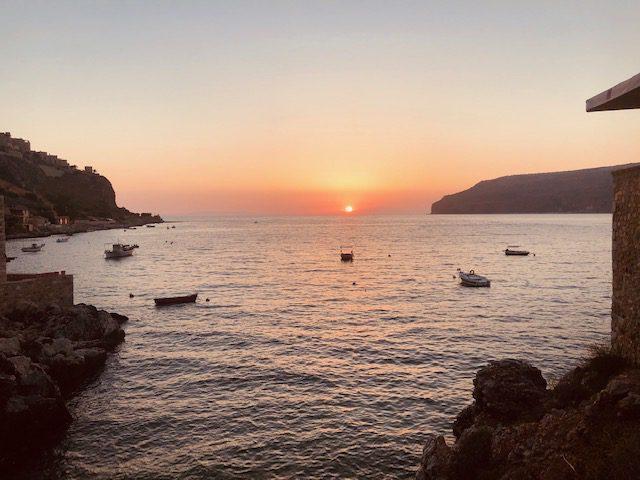 Limeni Peloponez zalazak sunca