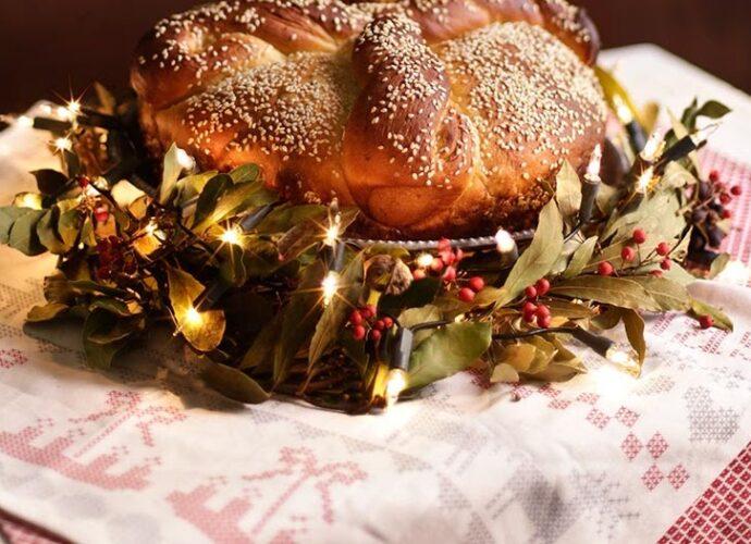 grčki božićni hleb